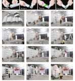 Rek van de Tentoonstelling DIY van de douane het Draagbare Modulaire Geschikte