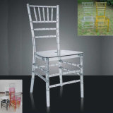 Party, Event, Wedding (M-X1150)를 위한 명확한 Resin Chiavari Chair Tiffany Chair