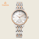 Horloge 71125 van de Dames van het Roestvrij staal van de Goede Kwaliteit van de Manier van de charme