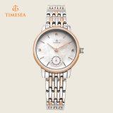 Vigilanza di signore di cristallo di vendita calda della signora Steel Watch signora orologio di disegno di modo 71125