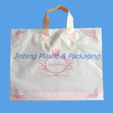 Loop morbido Plastic Carrier Bag con Printing