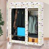Hete Sale Oxford Fabric Cloth Wardrobe (WS16-0083, voor slaapkamermeubilair)
