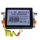 Dispositifs visuels de protection contre la foudre d'alimentation de l'énergie 220V de télévision en circuit fermé (SPD502VP/220V)