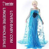 アナElsa Cosplay Costume (L15348)女の子の王女