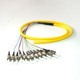 Sm van uitstekende kwaliteit ST/PC 12 de Optische Vlecht van de Vezel