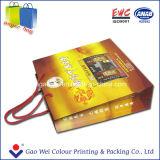 Zoll gedruckter Geschenk-Kunstdruckpapier-Beutel-verpackenbeutel