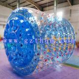 Inflable de PVC azul / bola del agua de TPU / agua colorido de la bola / inflable pelota de playa