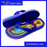 Flops Flip тапочки перемещения PVC популярного типа голубые для людей