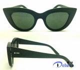 Gafas de sol plásticas de las mujeres de la manera con dimensión de una variable del Gato-Ojo