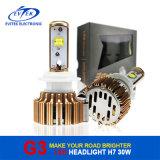 carro do ventilador H1/H3/H7/H4/9005/9006 de 30W 3000lm Turbo/farol instalado caminhão do diodo emissor de luz do CREE