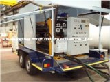 Тип установленный трейлером передвижное масло трансформатора, диэлектрическое масло, завод фильтра для масла изоляции (серия ZYM)