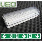 Luz Emergency fixada na parede do diodo emissor de luz (PR198/LED/M)