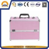 Caja de tren de aluminio de la belleza del maquillaje de Haputa (HB-1021)