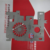 Taglierina di alluminio del laser del metallo del ~ 3000W del Ce 500 senza contatto al pezzo in lavorazione