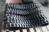 Piste en caoutchouc 180X72X37 de chenille de chaîne de roulis de qualité