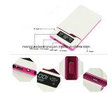 무료 샘플 고품질 토치 지능적인 재충전용 힘 은행을%s 가진 Ultra-Thin 12000 Ma 이중 USB 발광 다이오드 표시
