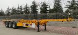 3 Axles скелетный контейнера трейлер 40FT Semi