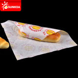 Burger Wrappingのための着色されたGreaseproof Paper