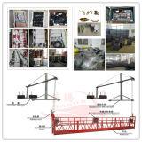 Gondola sospesa elevatore elettrico Zlp630 con gli accessori pieni