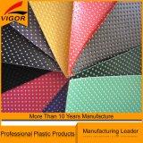 Cuero sintetizado del PVC para la tapicería del sofá con alta calidad
