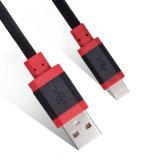 Cable de datos del cargador del USB del teléfono móvil para el iPhone de Samusng, iPad