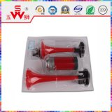 Красный двухсторонний электрический рожочок воздуха