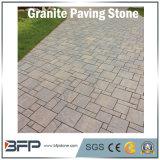 Grigio poco costoso/nero/colore rosa/pietra per lastricati granito giallo per il paracarro del giardino, Cubestone, ciottolo