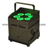 LED con pilas sin hilos Uplights 6X12W RGBWA+UV 6 in-1