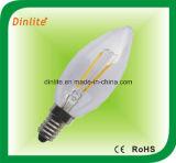 Bulbo de la vela LED de C35 2W 4W con Ce y RoHS