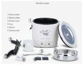 Mini elettrico Rice Cooker con 1L Non Stick Inner Pot