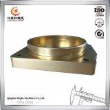 Fonderie en laiton en laiton de moulage de précision de bâti en bronze d'OEM pour des machines de matériel