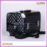 Shoulder Strap (SACMC123)를 가진 다이아몬드 ABS Cosmetic Train Case Fashion Makeup Travel Case