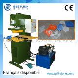 Multi hydraulische Steinfurnier-blattfliese-Ausschnitt-funktionellmaschine