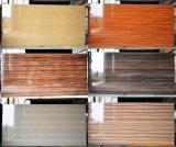 MDF ULTRAVIOLETA brillante laminado Paper/PVC de la melamina alto para los muebles