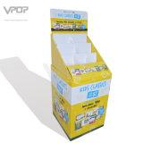 Stand d'affichage pop pour carnet de carton en cascade