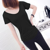 Maglietta per Women, Ladies Cotton Casual T-Shirt