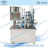 Máquina de rellenar de embalaje del helado de la cápsula automática del café con Ce
