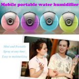 A pele facial da névoa do mini pulverizador facial portátil móvel da beleza do humidificador da umidade hidrata o Facial
