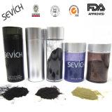 Sofortige Haar-Verdickung-Faserdunkles Brown-schwarzes Farben-Haar, das Mann-Puder-Produkte für Mann oder Weibchen anredet