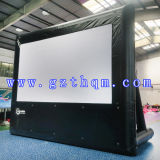 Aufblasbarer Film-Bildschirm für das Bekanntmachen/aufblasbaren Film-Projektions-Bildschirm in der Projektion