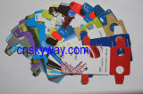 Fördernder Abdruck-faltende Karten-Binokel