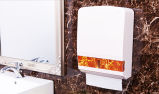 Distributeur d'essuie-main de papier pour l'usage de salle de bains avec du plastique (KW-838)