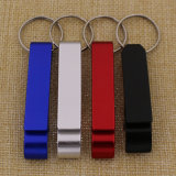 Keychain를 가진 싼 Promotional Customize Printed Aluminium Bottle Opener