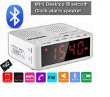 Despertador de Digitas com tela Display/FM/MP3/Alarm/Aux da visão noturna do altofalante de Bluetooth a grande