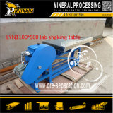 Fábrica al por mayor del vector de la sacudida de la máquina del separador del mineral del oro del equipo minero