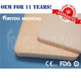 2016 Premium medico Luofucon Silicone Foam Dressing con Border