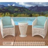 Tavolino da salotto di svago della mobilia del patio del giardino del blocco per grafici ed insieme di alluminio della presidenza