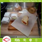 papel do cozimento de 12inch x de 16inch esquadra o papel de alinhamento da bandeja do forno