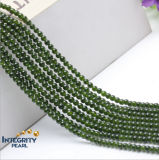 4개의 6개의 8개의 10의 12mm DIY 원석 보석 느슨한 물가는 자연적인 녹색 옥수를 도매한다