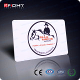 Cartão esperto de MIFARE DESFire 4k 13.56MHz Cr80 Cmyk RFID